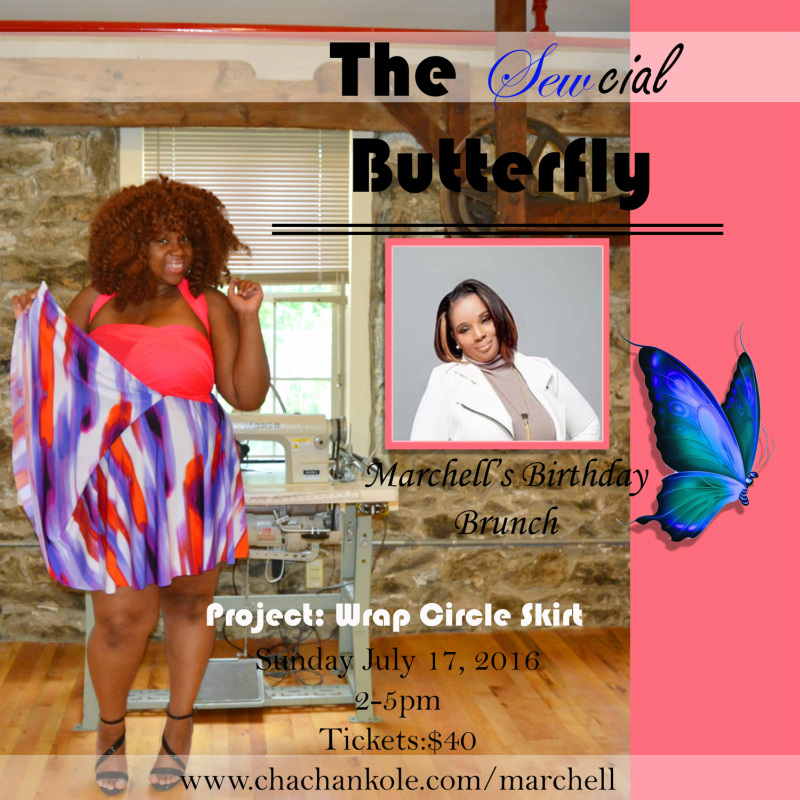 Sewcial Butterfly Brunch